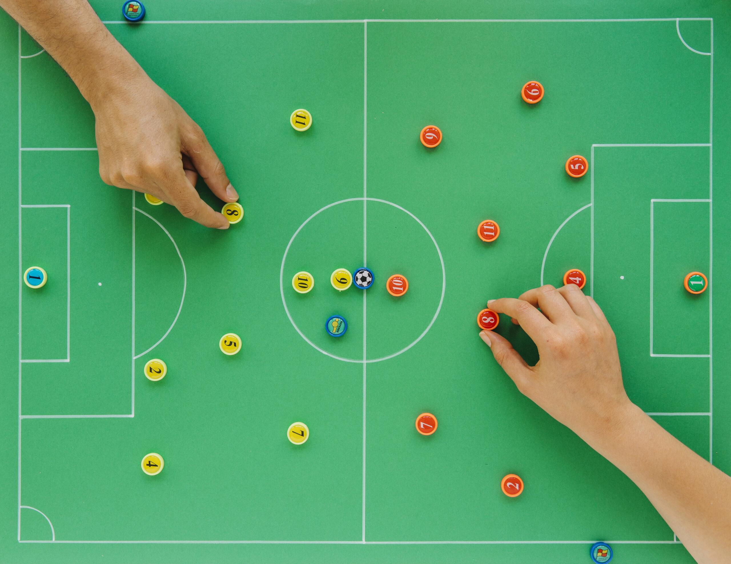 opstelling voetbal